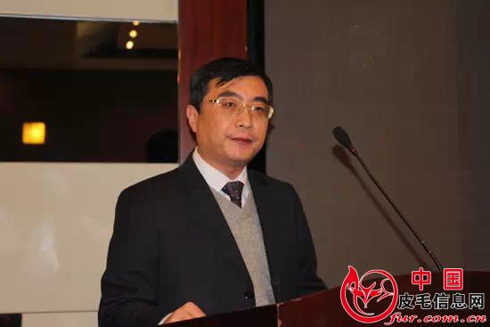 王少杰先生致欢迎词
